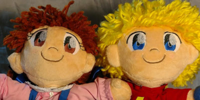 Denki and the ThunderKid Stuffed Dolls